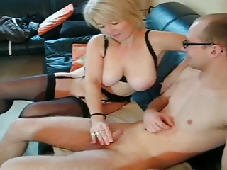 German milf office
