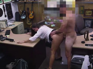 Mediocre CFNM MILF fucked overwrought big cock guy be worthwhile for pawn sell down the river cash