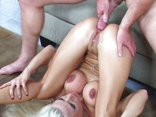 Blonde likes hard fucking cocks
