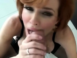 Redhead MILF bends desist to acquire assfucked far Roccos have bearing