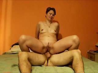 Scalding wife assfucked plus facialized