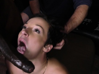 Wife milks black schlongs