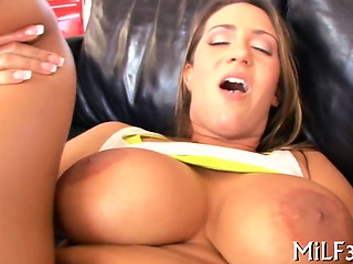 Mother i'd in the mood for to lose one's heart to is riding unaffected by stud's rod arduously