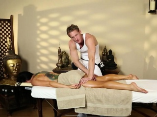 fearsome massage actions foreigner voyeur camera