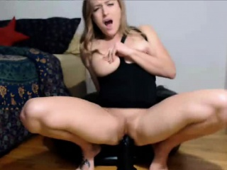 Hot Milf Fucking Renowned Disastrous Dildo And Squirting