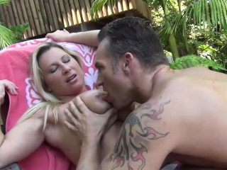 Busty Blonde Mom Devon Lee Outdoor Fucking Sport