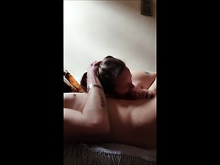 Big Girl Loves To Swallow her lover's sperm.