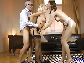 European stockings amateurish cockriding nigh trio