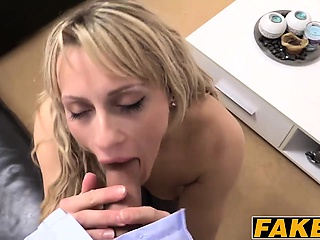 Lusty milf nailed in the air say no to inviting pussy by a evict agent