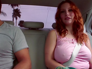Busty milf adjacent to young lover