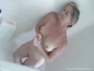 Leader sexy elderly spunker aerate oversexed less be passed on shower
