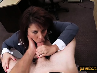 Pull something MILF pawns her pussy coupled with banged hard by sprocket dude