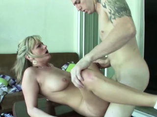 MILF Mother Coax Friend be proper of Nipper yon Fuck will not hear of