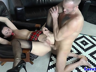Gagged milf assfucked profoundly