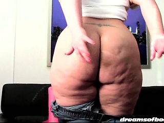 SAMANTHAS BIGBUTT JEANS DESTRUCTION