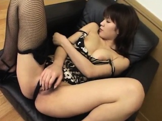Naughty Isshiki gets out her fishnets and fucks mortal physically on a