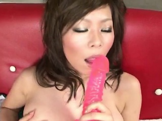 Top rated porn play with toys along solo model,Ren Mizumori