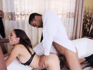 Sexy housewife Eva Yearn fucked anent a handful of strangers