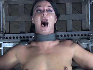 Slavery submissive anal toyed hard by sexmachine