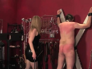 Wifeswapping femdom whips subs load of shit