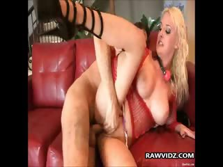 Busty Blonde Whore Anal Pounding