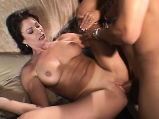 Broad in the beam mamma wed gets her cunt plus ass drilled with her husband there