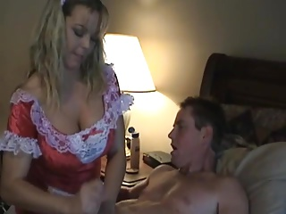 Amber Lynn Bach - Hot Sheila gives Handjob