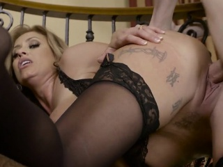 Hot Wife Eva Notty Gets Partiality Over And Creampied