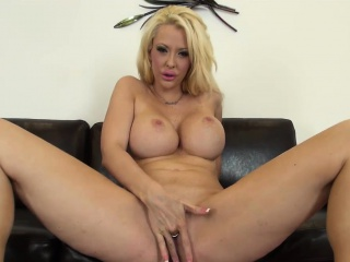 Courtney Taylor Busty and Blonde Simply