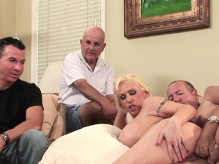 Married milf assfucked take a cuckold session