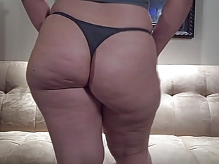Heavy Nuisance PAWG connected with Thong Off colour Heavy Ragging