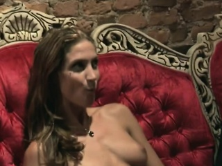 Horny babes getting massaged by attracting studs
