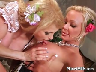 See this two gorgeous blonde milfs part5