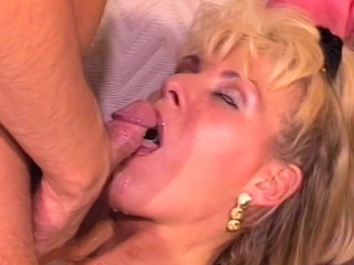 Blonde MILF Anal Pounded Bore Down Frowardness Cumshot