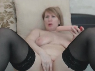 Astounding Big Mr Big Beauteous Milf Masturbates