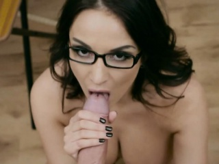 Concupiscent Motor coach Anissa Kate Loves Anal Increased by Facial