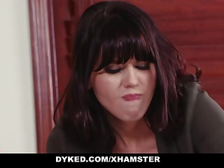 Dyked - Straight Teen Driven At the end of one's tether Hot Milf With Strapon