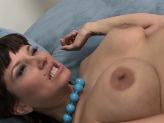 Busty pornstar Carrie Ann Dickett gets a facial with the addition of a