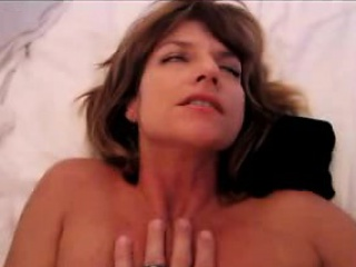 Super hot milf gets anal fucked and facialized