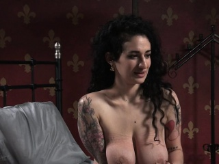Bound busty get together have spanked off out of one's mind swart maledom