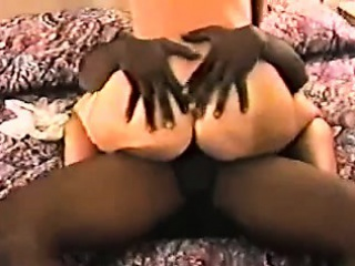 Blonde takes duo deep black gumshoe c Amalia from dates25com