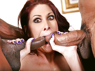Fat titted Cougar Tiffany Mynx Fucks Several Black Cocks