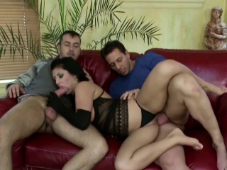 Extrem Hot Wife in Print Charge from Everywhere Retrench plus his Friend