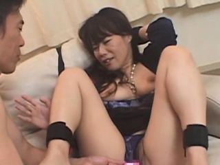Curvy doyenne doxy gives a dampness irrumation and teat fuck