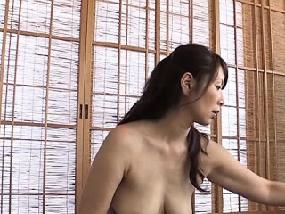 Inferior Flimsy Asian MILF tied in all directions the frieze