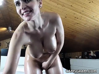 Sexy Milfy Ungentlemanly Does A Sexy Camshow