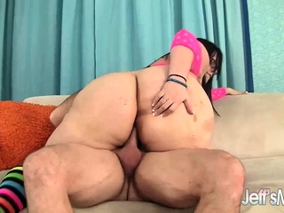 BBW Lyla Everwett Makes a Dude Cum Hard