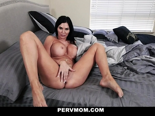 PervMom - Broad in the beam Titty Stepmom Rides Their way stepsons Cock