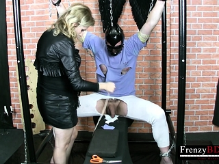 FrenzyBDSM Sissified Domination Video with Latex