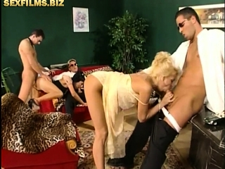 Hard group lovemaking down place